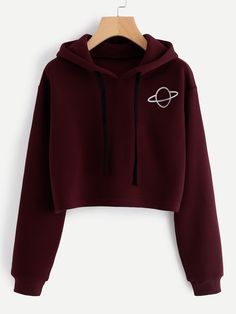 SheIn offers Planet Print Hoodie & more to fit your fashionable needs. SheIn offers Planet Print Hoodie & more to fit your fashionable needs. Teenage Outfits, Teen Fashion Outfits, Outfits For Teens, Fashion Ideas, Girl Fashion, Gym Outfits, Fashion Black, Fashion Styles, Fashion Clothes
