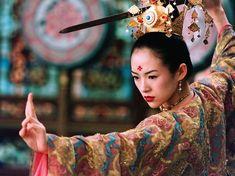 Zhang Ziyi kun-fu - Bing Images