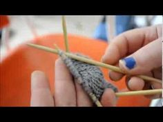 Simple Beginner Baby Socks - YouTube