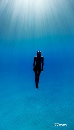 underwater freedive