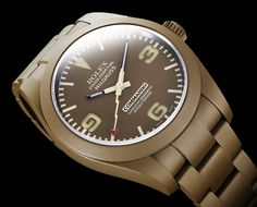 Bamford Watch Department Commando Edition Customized Rolex Watches Watch Releases