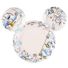 Donald Duck Icon Melamine Plate
