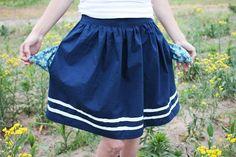 pocket skirt!!