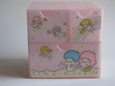 Little Twin Stars vintage 1976 Storage Box