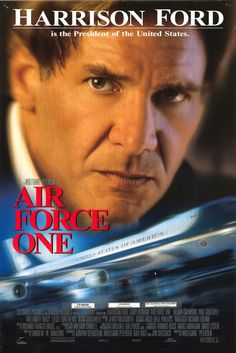 """MOVIE - Air Force One """"1997"""" (Genre: Action) Starring: Harrison Ford as President James Marshall, Wendy Crewson as Grace Marshall, Liesel Matthew as Alice Marshall, Glenn Close as Vice President Kathryn Bennett & Gary Oldman as Ivan Korshunov. Plot: Hi-jackers seize the plane carrying the President of the USA & his family, but he - an ex-soldier - works from hiding to defeat them."""