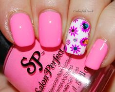 """Salon Perfect """"Tickled Pink"""" www.colorfulcrack.com"""