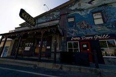 Iron Door, oldest bar in California in Groveland, CA.