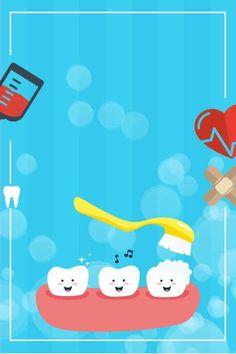 Teeth Dentist, Kids Dentist, Dental Kids, Dental Art, Teeth Quotes, Dental Quotes, Banner Design, Teeth Images, Dental Clinic Logo