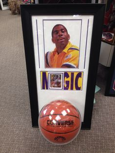 Magic Johnson #basketball #customframed #magicjohnson