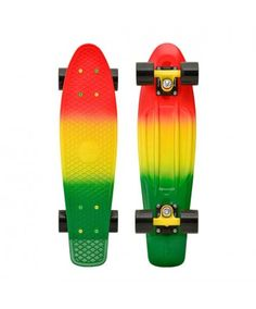 "Penny Skateboards USA Rasta Fade 22"" Skateboard | Penny Skateboards"