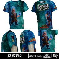 T Shirt Ice Wizard Clash of Clans | Distro Custom Apparel
