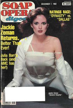 Jackie Zeman (Bobbie #GH) 12/7/82 http://classicsodcovers.tumblr.com/