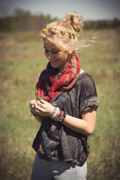 Keep Me Tee style pic on Free People