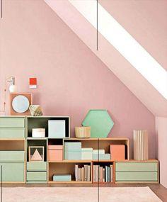 Catalogo colori pareti colore esterno casa moderna casa for Pareti rosa cipria