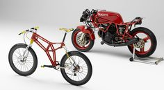 I rest my case.... #ducati #bycycle