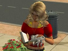 When your Sim did stupid stuff like hold a puppy like this. | The 29 Weirdest Things Ever To Happen When Playing The Sims