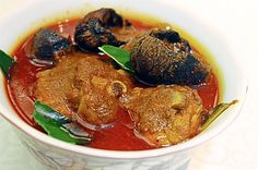 Ayam Buah Keluak Curry at the Best of Malaysia: Nyonya food promotion by Debbie Teoh at the Chatz Brasserie, Parkroyal Kuala Lumpur hotel. IZZRAFIQ ALIAS / The Star. Nyonya Food, Food Promotion, August 26, Malaysian Food, Kuala Lumpur, Places To Eat, Allrecipes, Curry, Dishes
