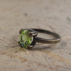 Hey, I found this really awesome Etsy listing at https://www.etsy.com/listing/175693198/peridot-ring-silver-peridot-ring-peridot