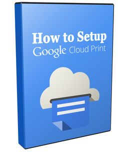 How to Setup #GoogleCloud Print Video Series with Master Resell Rights Learn How to Setup and Use #Google #Cloud Print!  Google Cloud Print is another Google fantastic #technology that connects your #printers to the cloud. If you are wondering how this works, then you should want the video inside.