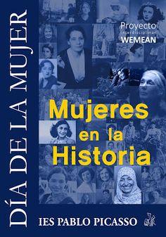 Mujeres en la Historia. Extraescolares del IES Pablo Picasso Pinto Pablo Picasso, Movies, Movie Posters, Women In History, Films, Film Poster, Cinema, Movie, Film