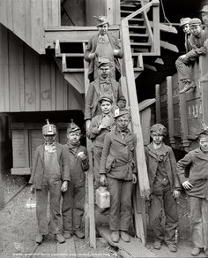 Breaker Boys, Woodward Coal Mines, Kingston, PA From the RetroGraphic Gallery Archive of Restored & Enlarged Photo Reprints Chatterley Whitfield Colliery - UK Coal Mine Chatterley Whitfield Colliery - UK Coal Mine Us History, American History, Local History, British History, Fashion History, Shorpy Historical Photos, Society Problems, Lewis Hine, Visual Literacy