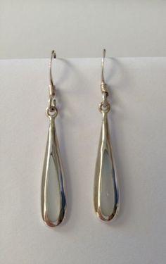 mother of pearl drop earrings sterling silver jewellery bobin boutique jewelry