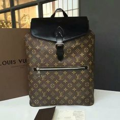 a1d3d0c062e8 Louis Vuitton M40637 Palk Backpack Monogram Canvas