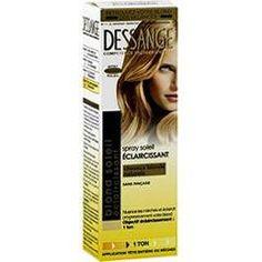 spray soleil claircissant cheveux blonds naturels dessange - Eclaircissant Cheveux Colors