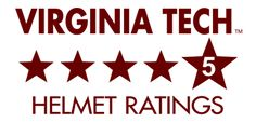 Virginia Tech Helmet Ratings: Football helmets