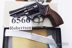 Astra Spain .38 Special Police model Large Frame Revolver 6 Shot 3 inch Blue Steel Walnut Grips G-VG 1985 Spanish Production, Venezuela Homeland Security Issue Original Box +P OK.  Item #: 940281904. SKU/UPC: 787450431942. Stock No.: HG6566. Price: $269.00
