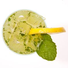 Red Hook Cooler: In a shaker, muddle three to four mint sprigs. Add 2 ...