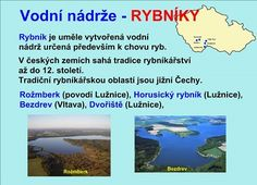 VODSTVO ČESKÉ REPUBLIKY :: Béčko-Tc Geography, Kids Learning, Homeschool, Teaching, Education, Health, Health Care, Learning, Training