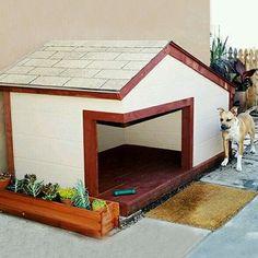 New Dog House Design Ideas - Hundehütten