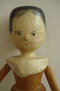 Victorian peg doll