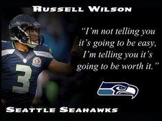 Russell Wilson Seattle Seahawks Photo Quote by ArleyArtEmporium Seahawks Gear, Seahawks Fans, Seahawks Football, Best Football Team, Seattle Seahawks, Friday Football, Wilson Seahawks, Seahawks Memes, Seahawks Players