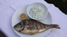 Dinner for One: Goldbrasse mit Rahmgurken  Credit: Strobl
