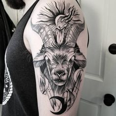 Wicked Tattoos, Creepy Tattoos, Cute Tattoos, Tattoos For Guys, Black Ink Tattoos, Body Art Tattoos, Sleeve Tattoos, Demon Tattoo, Witch Tattoo