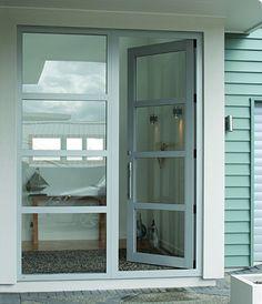 Adelaide's Aluminium Sliding Doors and Aluminium Door Design, Aluminium Front Door, Aluminium French Doors, Aluminium Windows And Doors, Exterior Doors With Glass, Sliding Windows, Grey Front Doors, Front Door Entrance, Glass Front Door