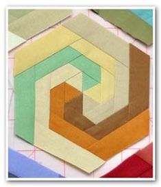I absolutely love the movement in this quilt block.  I'm going to add this one to the list -- the short list!