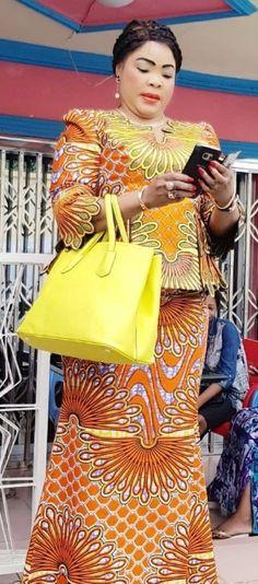 FROM DRC African Attire, African Wear, African Dress, Nigerian Dress, Salama, African Girl, Ankara Dress, Kitenge, Africans