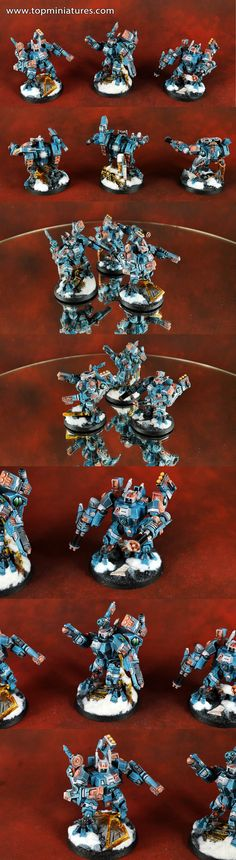 Warhammer 40k Tau Empire XV8 Crisis Suits
