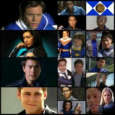 Billy Cranston, David Yost, Blue Ranger, Triceratops, Mighty Morphin Power Rangers, Kai Chen, Archie Kao, Flynn McAllistair, Ari Boyland, Lucas Kendall, Michael Copon, Schuyler Sky Tate, Chris Violette, Rocky DeSantos, Steve Cardenas, Koda, Yoshi Sudarso, MMPR, Alien Rangers, Zeo, Turbo, In Space, Lost Galaxy, Lightspeed Rescue, Time Force, Wild Force, Ninja Storm, Dino Thunder, S.P.D., Mystic Force, Operation Overdrive, Jungle Fury, RPM, Super Samurai, Mega Force, Dino Charge