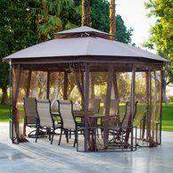 9cfbdae0639d85891e233b651cdf2bf9 - Better Homes And Gardens Sullivan Ridge Hardtop Gazebo With Netting