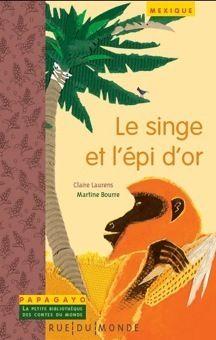 전세계 이야기를 담은 앵무새 시리즈 문고|  각 종족의 문화와 밀접하게 연결되어 있는 전래 이야기와 매우 풍부한 정보가 함께 실려있는 시리즈| 원숭이와 황금 옥수수|48페이지, 14 x 22 cm, 5세이상 |    라틴아메리카 나우아족 인디언의 전통과 전래이야기, 그들의 문화와 정보. 옥수수 재배에 대한 기원을 다룬 이야기.
