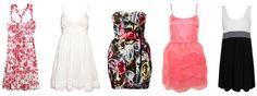 pink scallop dress, topshop