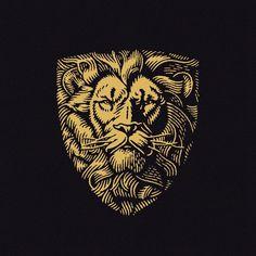 © Yondr Studio African Logo, Lion Logo, Letterhead Design, Logo Restaurant, Retro Logos, Badge Design, Best Logo Design, Lion Tattoo, Animal Logo