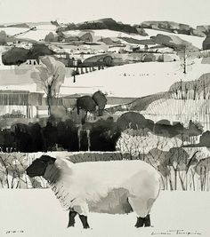 Louis Turpin Black Faced Ewe 2010
