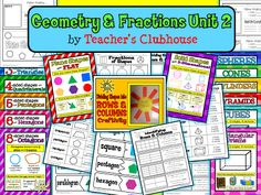 Geometry & Fractions Unit