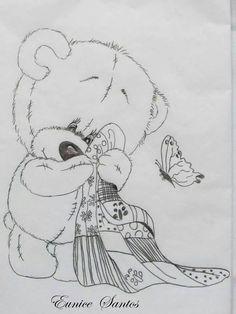 Resultado de imagem para riscos de ursinho tatty