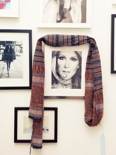 """I was going to see that same show for the fourth time–don't judge, it's BEYOND MAJOR-and finally called in a favor with our Vegas store director to connect me with Team Dion. Celine signed and specifically chose that photo for me because in all her others she was wearing Tom Ford!"" http://www.thecoveteur.com/baja-east-scott-studenberg-john-targon/"